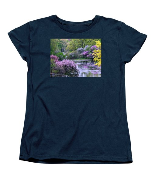 Under Spring's Spell Women's T-Shirt (Standard Cut) by Living Color Photography Lorraine Lynch