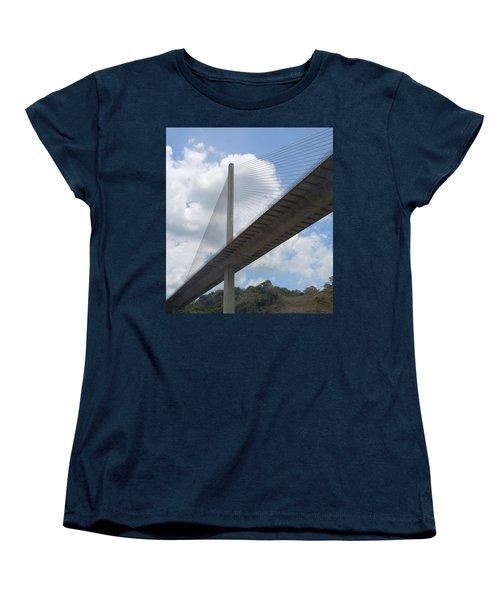 Under The Bridge Through Panama Women's T-Shirt (Standard Cut) by Karen J Shine