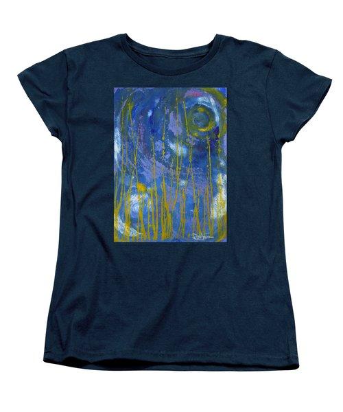 Under The Ocean Women's T-Shirt (Standard Cut) by Rachel Hames