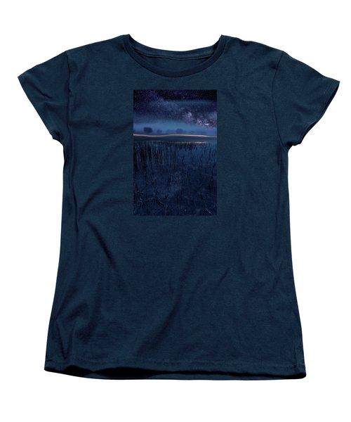 Under The Shadows Women's T-Shirt (Standard Cut) by Jorge Maia