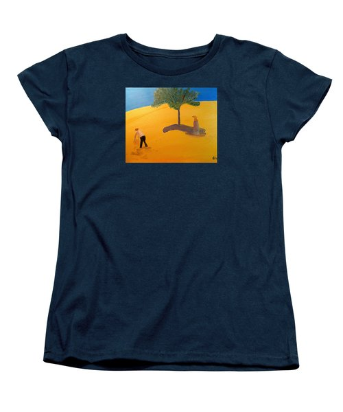 Women's T-Shirt (Standard Cut) featuring the painting Under The Tuscan Sun by Bill OConnor