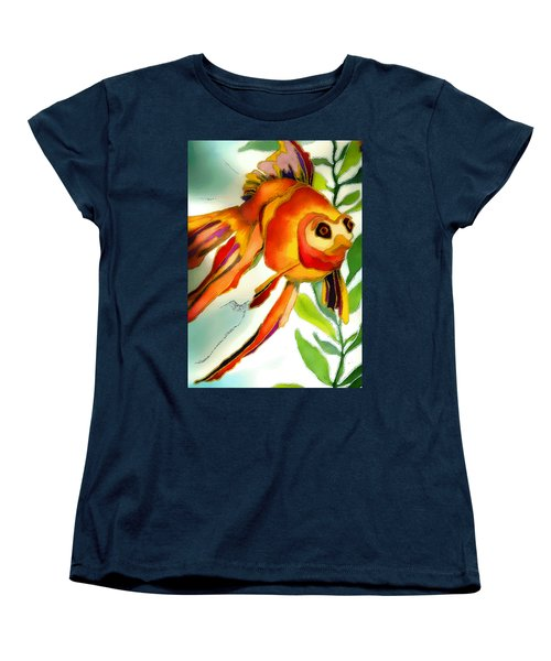 Underwater Fish Women's T-Shirt (Standard Cut) by Lyn Chambers