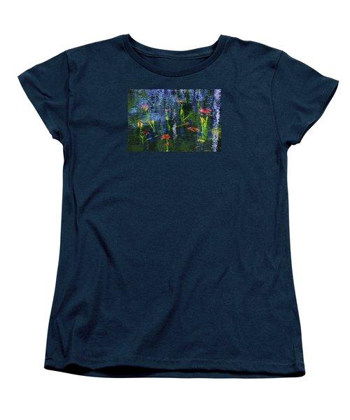 Underwater Lilies Women's T-Shirt (Standard Cut)
