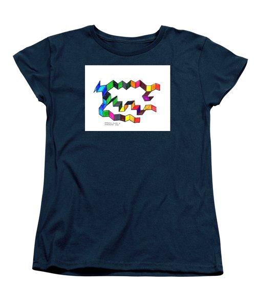 Unfolding Colors 2 Women's T-Shirt (Standard Cut)