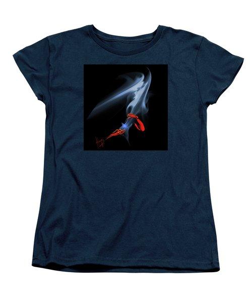 Unholy Smoke Women's T-Shirt (Standard Cut) by DC Langer