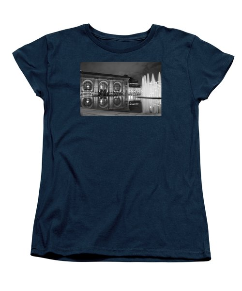 Union Station Reflections Women's T-Shirt (Standard Cut) by Steven Bateson