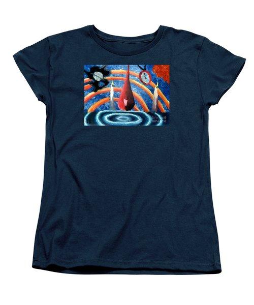 Universe Sky Women's T-Shirt (Standard Cut) by Luke Galutia