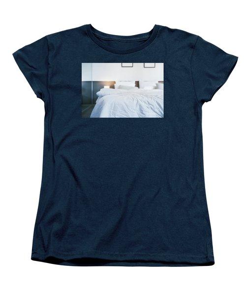 Unmade Bed Women's T-Shirt (Standard Cut) by Atiketta Sangasaeng