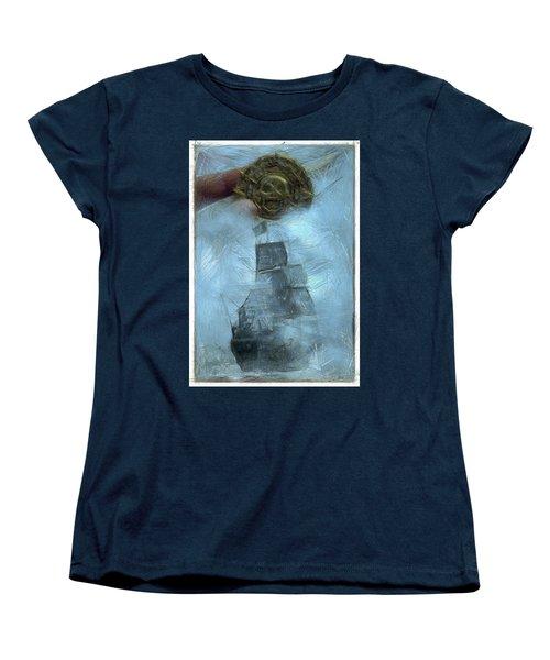 Unnatural Fog Women's T-Shirt (Standard Cut) by Benjamin Dean