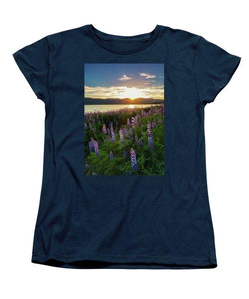 Untamed Beauty Women's T-Shirt (Standard Cut) by Tassanee Angiolillo