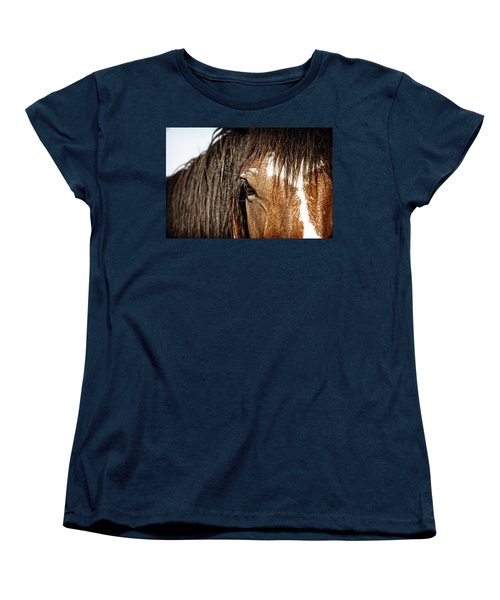 Untamed Women's T-Shirt (Standard Cut) by Lincoln Rogers
