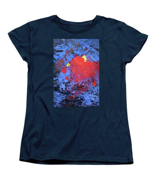 Untitled Abstract-7-817 Women's T-Shirt (Standard Cut)