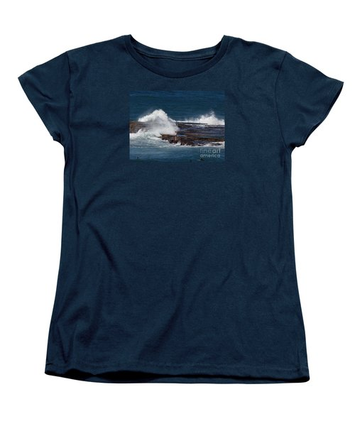 Unwitting Swimmer Women's T-Shirt (Standard Cut) by Bev Conover