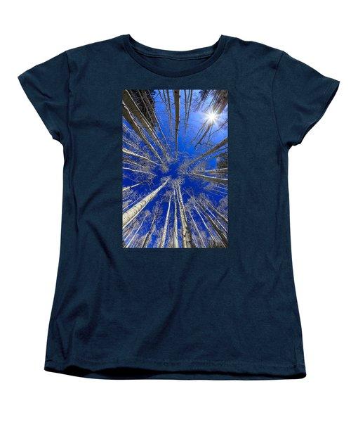 Up Women's T-Shirt (Standard Cut) by Alexey Stiop