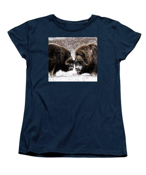 Up Close And Personal Women's T-Shirt (Standard Cut)