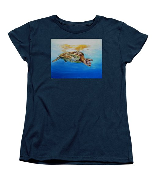 Up For Some Rays Women's T-Shirt (Standard Cut) by Ceci Watson