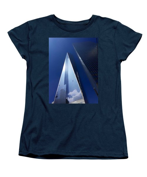 Up In New York Women's T-Shirt (Standard Cut) by Paul Wilford