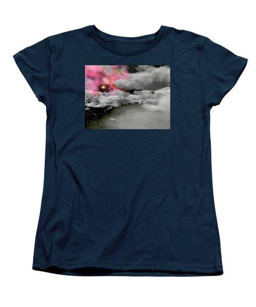Up Through The Clouds Women's T-Shirt (Standard Cut) by Michele Wilson