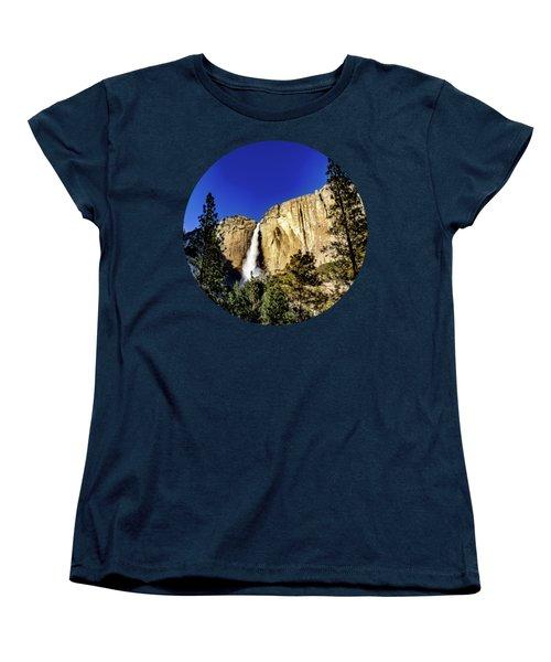 Upper Falls Women's T-Shirt (Standard Cut) by Adam Morsa