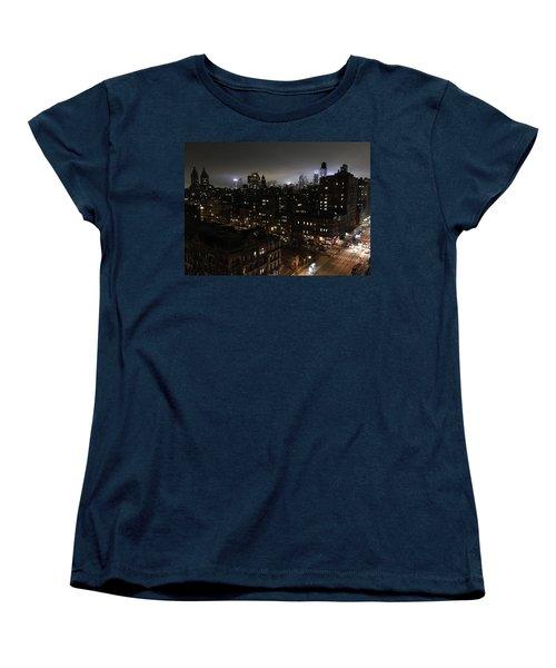 Upper West Side Women's T-Shirt (Standard Cut) by JoAnn Lense