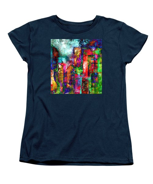 Urban #8 Women's T-Shirt (Standard Cut) by Kim Gauge