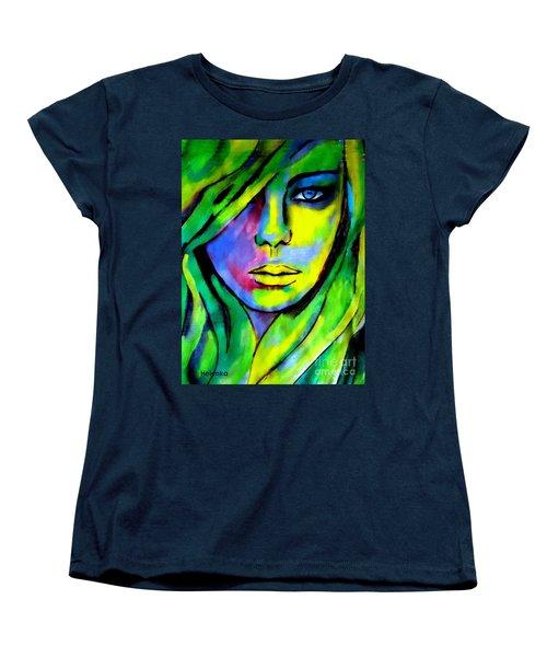 Urban Camouflage Women's T-Shirt (Standard Cut) by Helena Wierzbicki