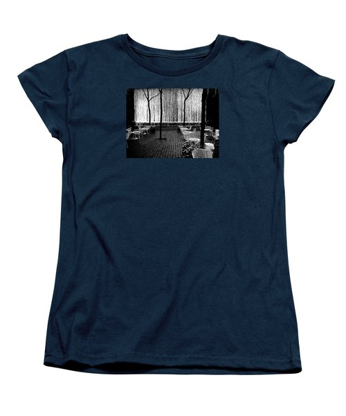 Urban Waterfall Women's T-Shirt (Standard Cut) by M G Whittingham