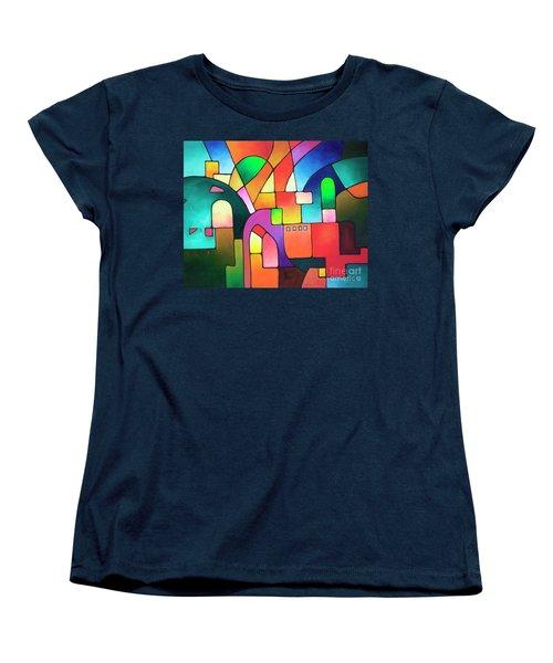 Urbanity Women's T-Shirt (Standard Cut) by Sally Trace