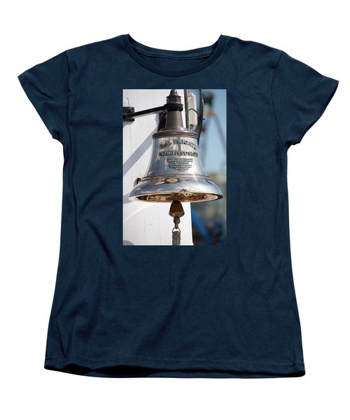 Us Frigate Bell Women's T-Shirt (Standard Cut) by Caroline Stella