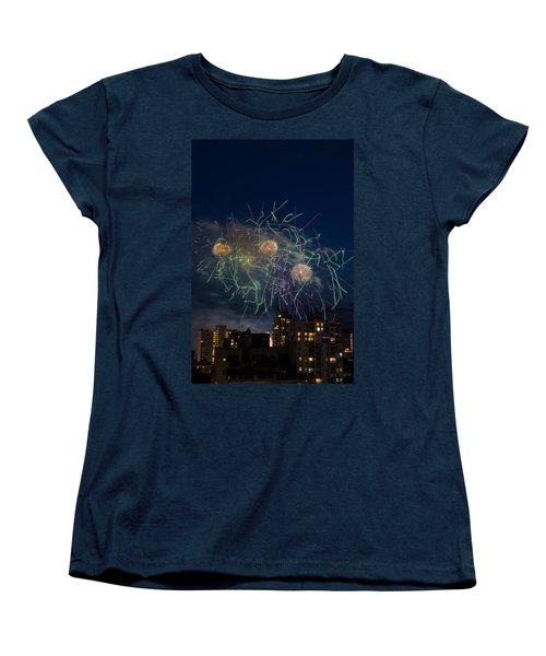 Usa 2 Women's T-Shirt (Standard Cut) by Ross G Strachan