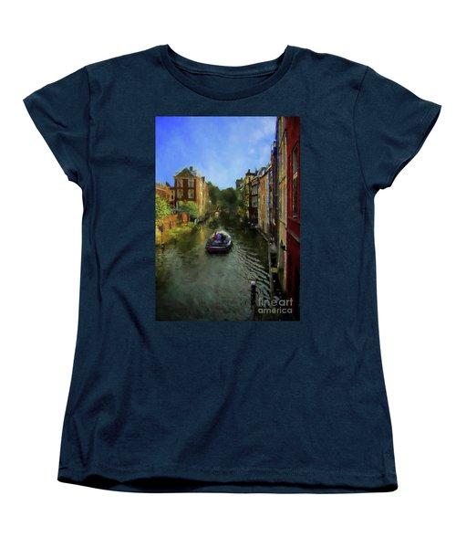 Utrecht, Holland Women's T-Shirt (Standard Cut) by John Kolenberg