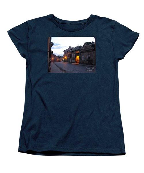 Uzupis Street. Old Vilnius. Lithuania. Women's T-Shirt (Standard Cut) by Ausra Huntington nee Paulauskaite