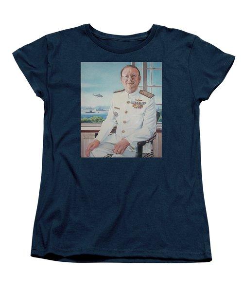 Vadm Robert Claude Simpson-anderson Women's T-Shirt (Standard Cut) by Tim Johnson