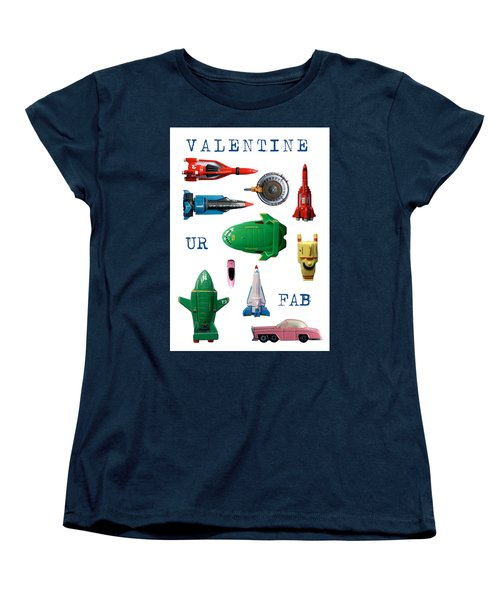 Women's T-Shirt (Standard Cut) featuring the photograph Valentine Ur Fab by John Colley