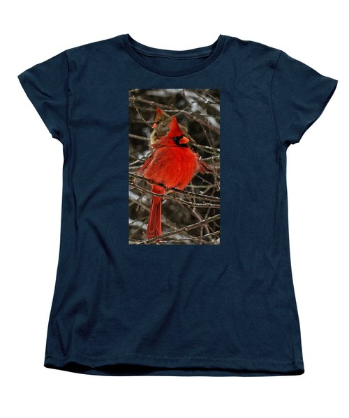 Women's T-Shirt (Standard Cut) featuring the photograph Valentines by John Harding