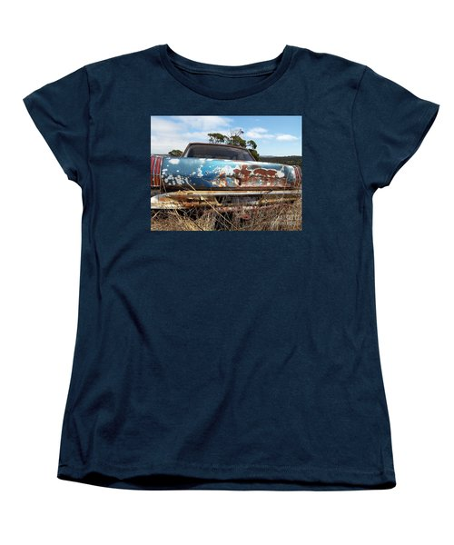 Women's T-Shirt (Standard Cut) featuring the photograph Valiant View by Stephen Mitchell