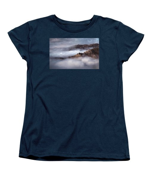 Valley In The Clouds Women's T-Shirt (Standard Cut) by Brad Grove