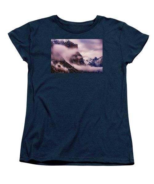 Valley Mood, Yosemite Women's T-Shirt (Standard Cut) by Vincent James