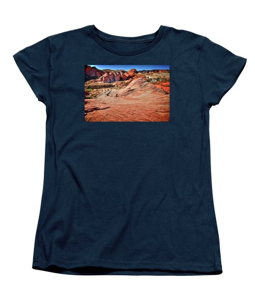 Valley Of Fire State Park Nevada Women's T-Shirt (Standard Cut) by James Hammond