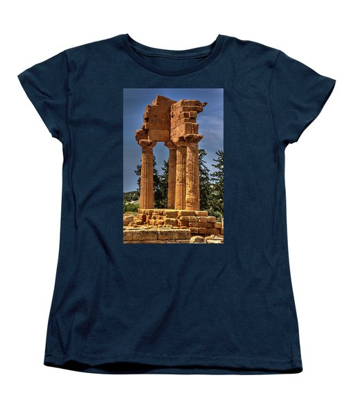 Valley Of The Temples I Women's T-Shirt (Standard Cut) by Patrick Boening