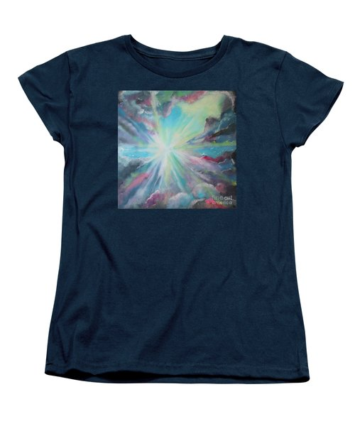 Women's T-Shirt (Standard Cut) featuring the painting Inspire by Stacey Zimmerman