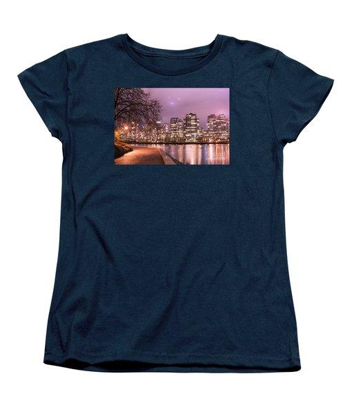 Women's T-Shirt (Standard Cut) featuring the photograph Vancouver, Canada by Juli Scalzi