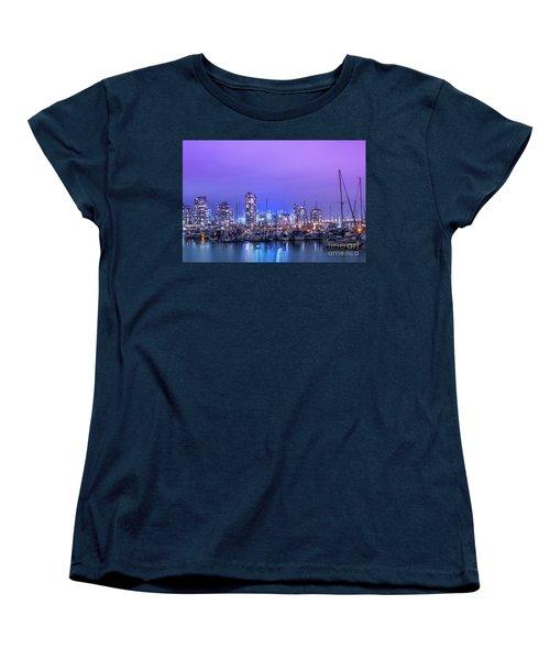 Women's T-Shirt (Standard Cut) featuring the photograph Vancouver by Juli Scalzi