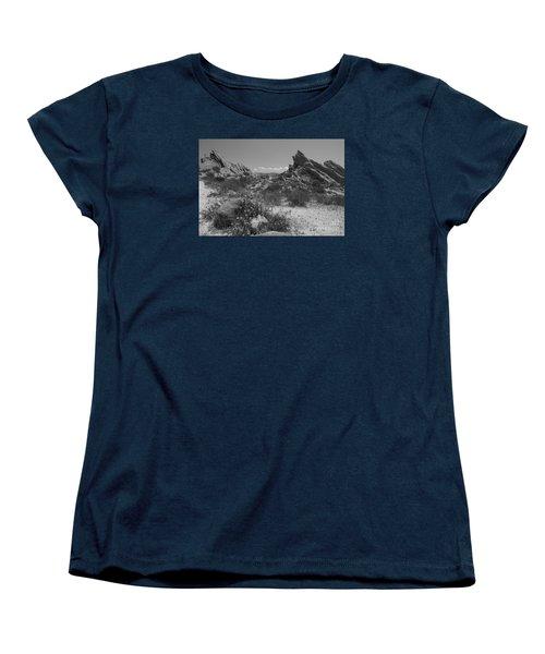 Women's T-Shirt (Standard Cut) featuring the photograph Vasquez Rocks by Ivete Basso Photography