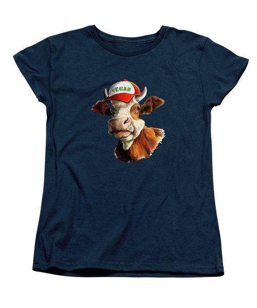Vegan Women's T-Shirt (Standard Cut) by Anthony Mwangi