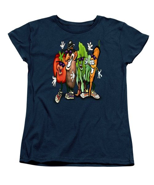Veggies Women's T-Shirt (Standard Cut) by Kevin Middleton