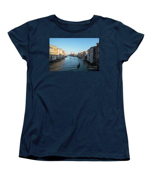 Venetian View  Women's T-Shirt (Standard Cut) by Yuri Santin