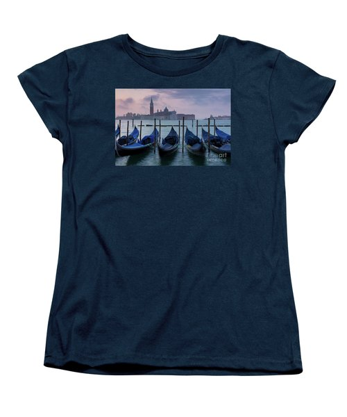 Women's T-Shirt (Standard Cut) featuring the photograph Venice Dawn IIi by Brian Jannsen