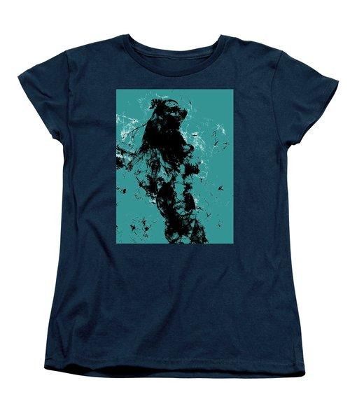 Venus Williams 4f Women's T-Shirt (Standard Cut) by Brian Reaves