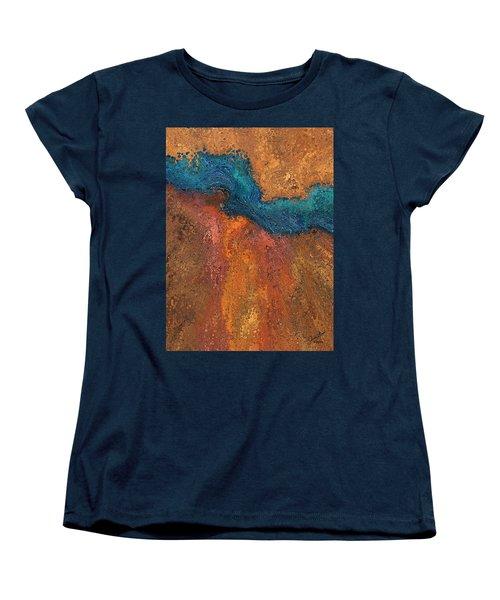 Verge Women's T-Shirt (Standard Cut) by The Art Of JudiLynn